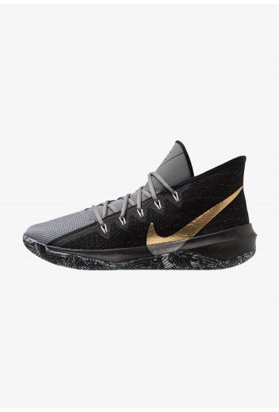 Black Friday 2019 - Nike ZOOM EVIDENCE III - Chaussures de basket black/metallic gold/cool grey/white