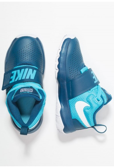 Black Friday 2019 - Nike TEAM HUSTLE D 8  - Chaussures de basket blue force/white/blue fury