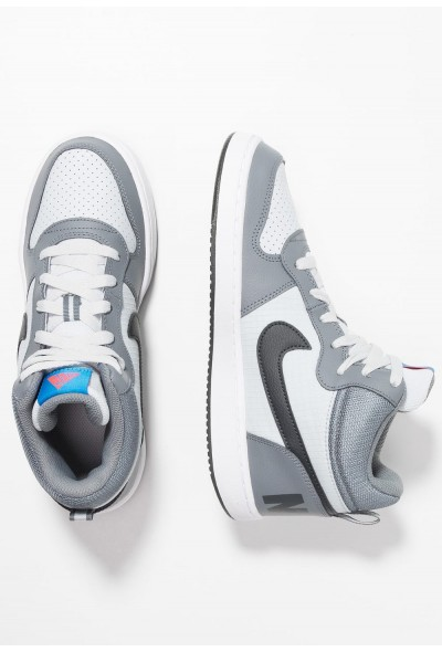 Nike COURT BOROUGH MID - Baskets montantes cool grey/anthracite/pure platinum/photo blue