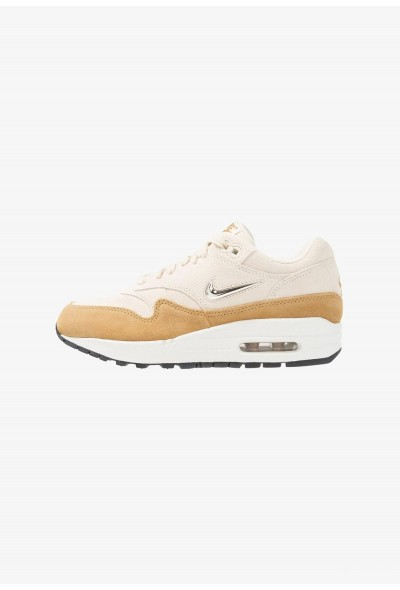 Nike AIR MAX 1 - Baskets basses beach/metallic gold grain/muted bronze
