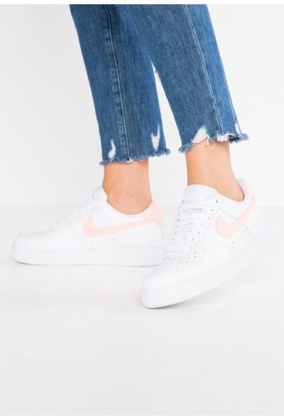 Nike AIR FORCE 1'07 - Baskets basses white/oracle pink