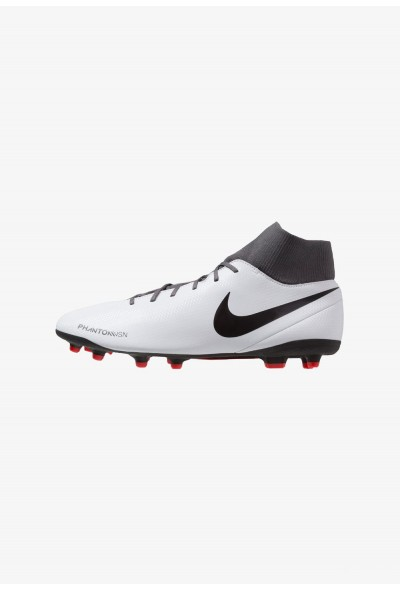Nike PHANTOM OBRA 3 CLUB DF MG - Chaussures de foot à crampons wolf grey/black/light crimson