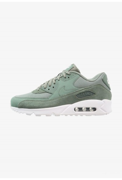 Nike AIR MAX 90 ESSENTIAL - Baskets basses clay green/white