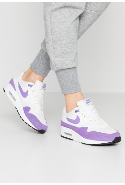 Black Friday 2019 - Nike AIR MAX 1 - Baskets basses summit white/atomic violet/black