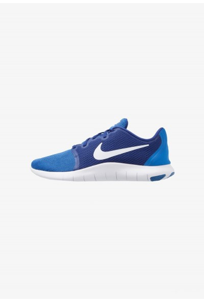 Nike FLEX CONTACT 2 - Chaussures de running compétition deep royal blue/white/signal blue