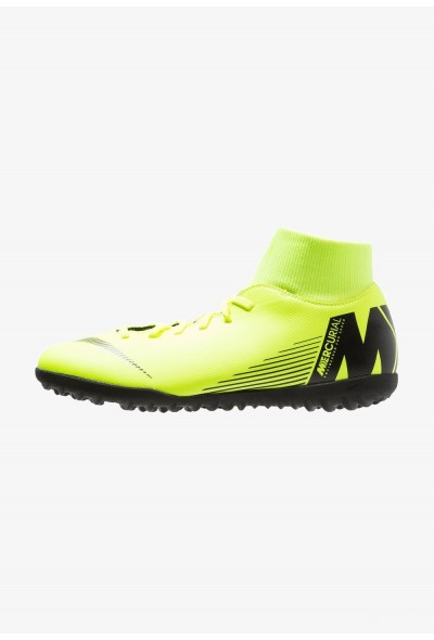 Nike SUPERFLYX 6 CLUB TF - Chaussures de foot multicrampons volt/black