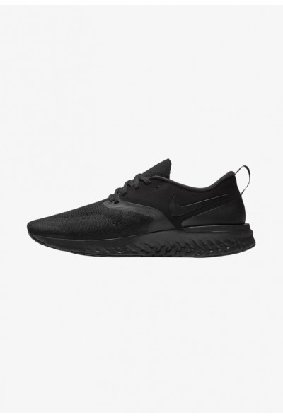 Nike ODYSSEY REACT 2 FLYKNIT - Chaussures de running neutres black/white