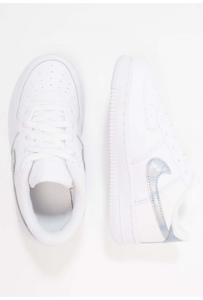 Nike NIKE FORCE 1 (TD) - Baskets basses white/royal tint