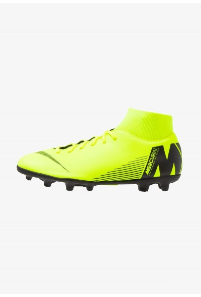 Black Friday 2019 - Nike MERCURIAL 6 CLUB MG - Chaussures de foot à crampons volt/black