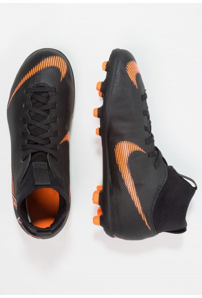 Nike CLUB MG - Chaussures de foot à crampons black/total orange/white