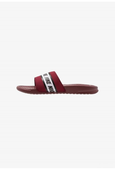 Nike BENASSI - Sandales de bain team red/white