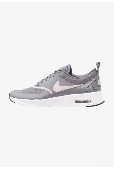 Nike AIR MAX THEA - Baskets basses gunsmoke/particle rose/black