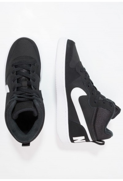 Nike COURT BOROUGH MID - Baskets montantes black/white