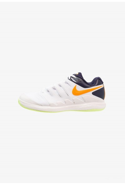 Nike AIR ZOOM VAPOR X CLAY - Chaussures de tennis sur terre battue phantom/orange peel/blackened blue/white/volt glow