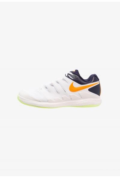 Nike AIR ZOOM VAPOR X CLAY - Chaussures de tennis sur terre battue phantom/orange peel/blackened blue/white/volt glow