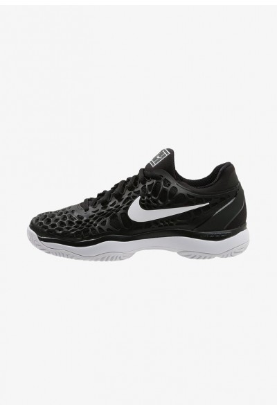 Nike AIR ZOOM CAGE 3 HC - Chaussures de tennis sur terre battue black/white/anthracite