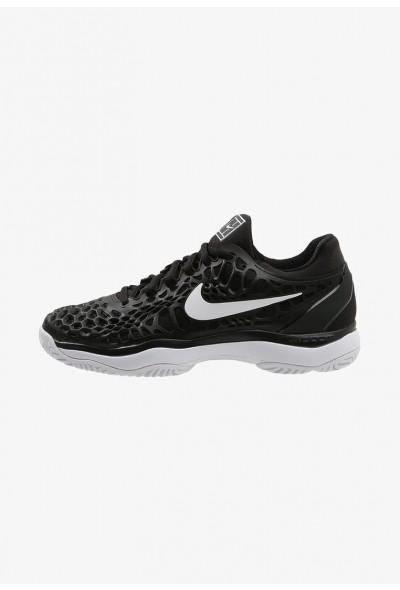 Nike AIR ZOOM CAGE 3 HC - Chaussures de tennis sur terre battue black/white/anthracite