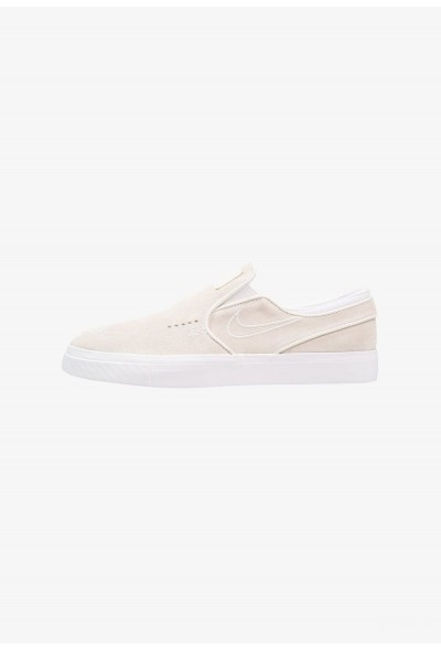 Nike ZOOM STEFAN JANOSKI - Mocassins white/light bone