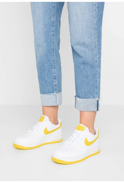 Black Friday 2019 - Nike AIR FORCE 1'07 - Baskets basses white/bright citron