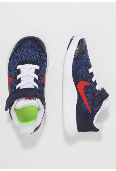 Nike FREE 2 - Chaussures de course neutres obsidian/university red/racer blue/photo blue