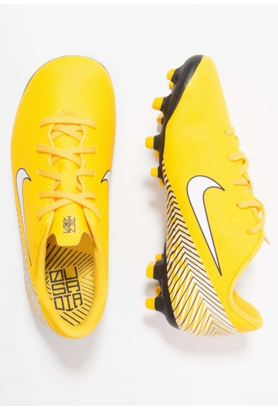 Black Friday 2019 - Nike MERCURIAL VAPOR 12 ACADEMY NJR MG - Chaussures de foot à crampons amarillo/white/black