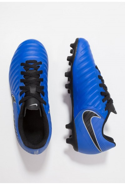 Nike TIEMPO LEGEND 7 CLUB MG - Chaussures de foot à crampons racer blue/black/wolf grey
