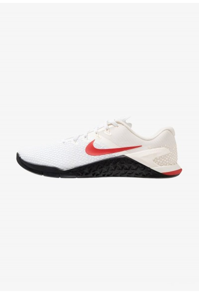 Nike METCON 4 XD - Chaussures d'entraînement et de fitness pale ivory/mystic red/white/club gold