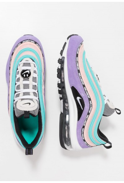 Nike AIR MAX 97 SE - Baskets basses space purple/white/black/bleached coral