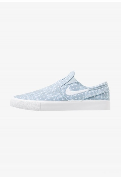 Nike ZOOM JANOSKI - Mocassins light armory blue/white/obsidian mist/light brown