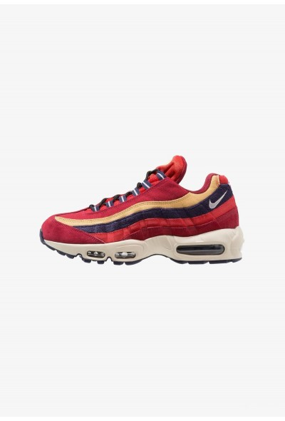 Nike AIR MAX 95 PRM - Baskets basses red crush/provence purple/wheat gold/university red/light cream/blackened blue