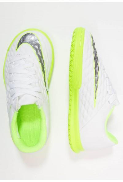 Nike PHANTOMX 3 CLUB IC - Chaussures de foot en salle white/chrome/volt