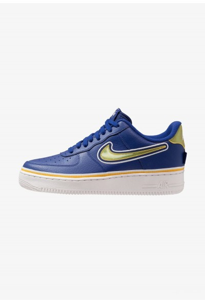 Nike AIR FORCE 1 '07 LV8 SPORT - Baskets basses deep royal/universal gold/off white