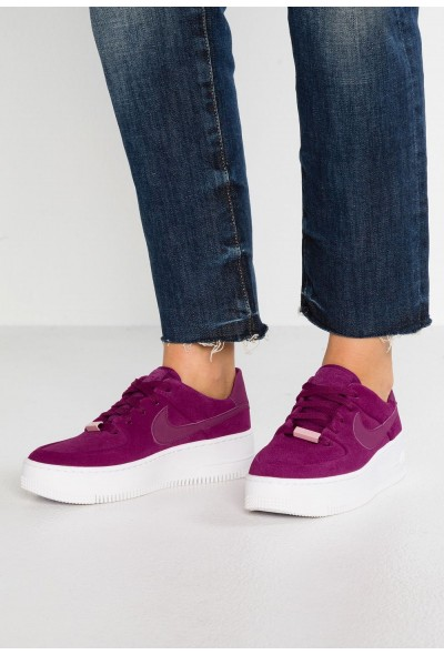 Nike AF1 SAGE - Baskets basses true berry/plum chalk