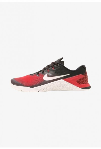 Nike METCON 4 - Chaussures d'entraînement et de fitness black/vast grey/hyper crimson/habanero red/atmosphere grey