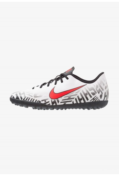 Nike MERCURIAL VAPORX 12 CLUB NJR TF - Chaussures de foot multicrampons white/challenge red/black