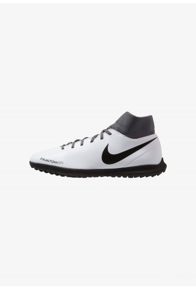 Nike PHANTOM OBRAX 3 CLUB DF TF - Chaussures de foot multicrampons wolf grey/black/light crimson