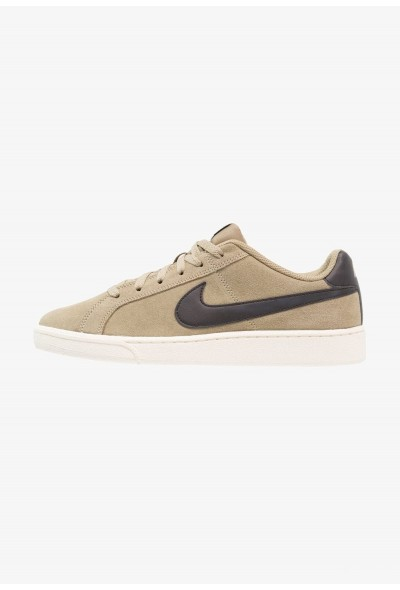 Nike COURT ROYALE SUEDE - Baskets basses neutral olive/black/sail