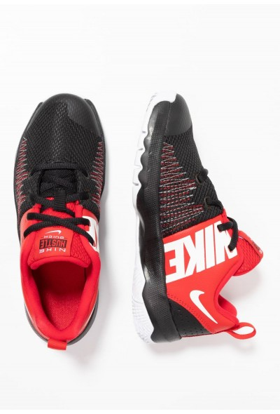 Black Friday 2019 - Nike TEAM HUSTLE QUICK - Chaussures de basket black/white/university red