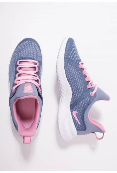 Nike RENEW RIVAL - Chaussures de running neutres diffused blue/pink/ashen slate