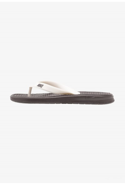Nike SOLAY THONG - Tongs thunder grey/pale ivory