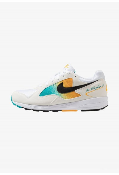 Nike AIR SKYLON II - Baskets basses white/black/univeral gold/spirit teal