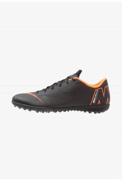 Nike MERCURIAL VAPORX 12 ACADEMY TF - Chaussures de foot multicrampons black/total orange/white