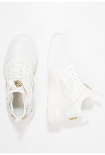 Nike AIR HUARACHE RUN ULTRA  - Baskets basses summit white/metallic gold star