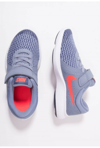 Nike REVOLUTION 4 - Chaussures de running neutres ashen slate/flash crimson/diffused blue