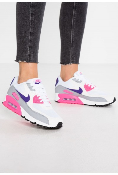 Nike AIR MAX - Baskets basses white/court purple/wolf grey/laser pink