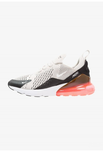 Nike AIR MAX 270 - Baskets basses black/light bone/hot punch/white