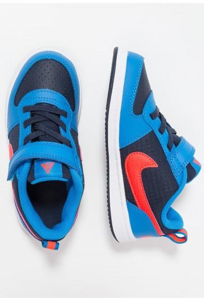 Nike COURT BOROUGH  - Chaussures premiers pas obsidian/bright crimson/photo blue/white