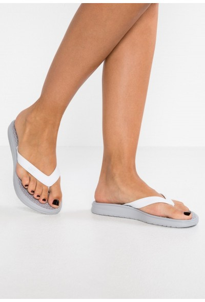 Nike SOLAY THONG - Tongs wolf grey/pure platinum/white