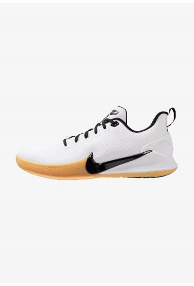 Nike MAMBA FOCUS - Chaussures de basket white/black/light brown