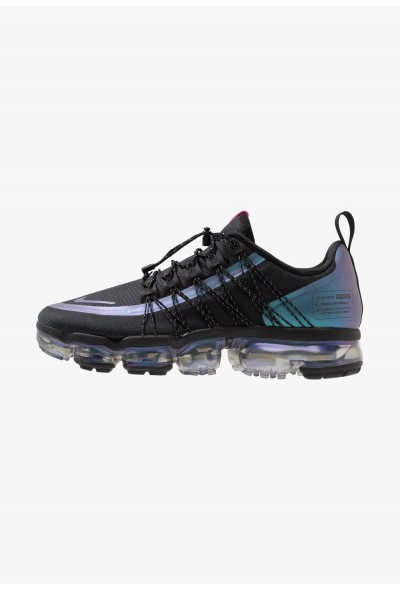 Nike AIR VAPORMAX RUN UTILITY - Chaussures de running neutres black/laser fuchsia/anthracite